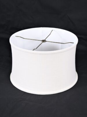 lamp shade, linen lamp shade, drum lamp shade